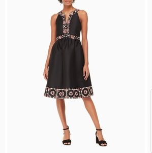 🔥 NWT mosaic embellished midi dress